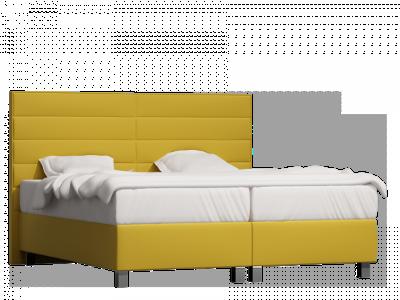 łóżko kontynentalne Qbik bryła