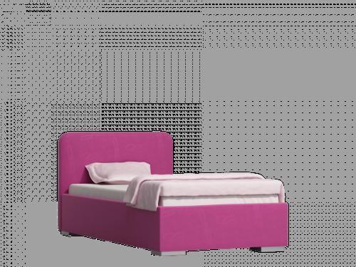 łóżko tapicerowane Bambino bryła