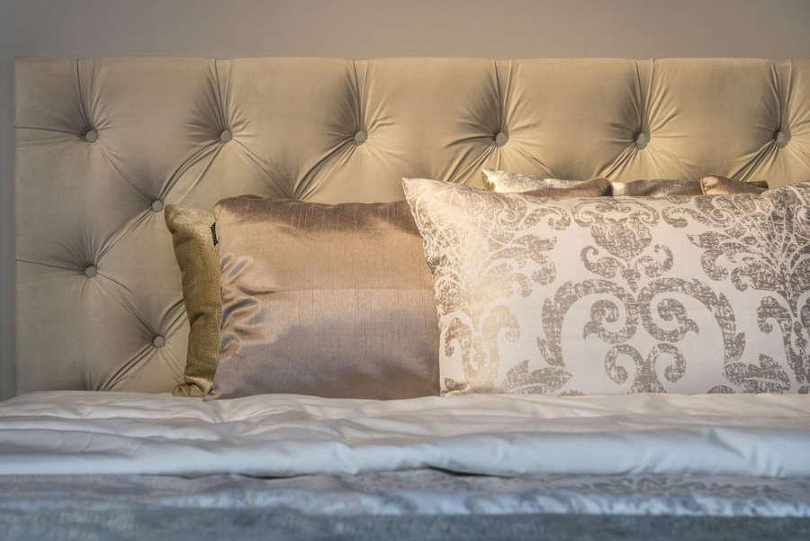 łóżko Milano pikowane wezgłowie