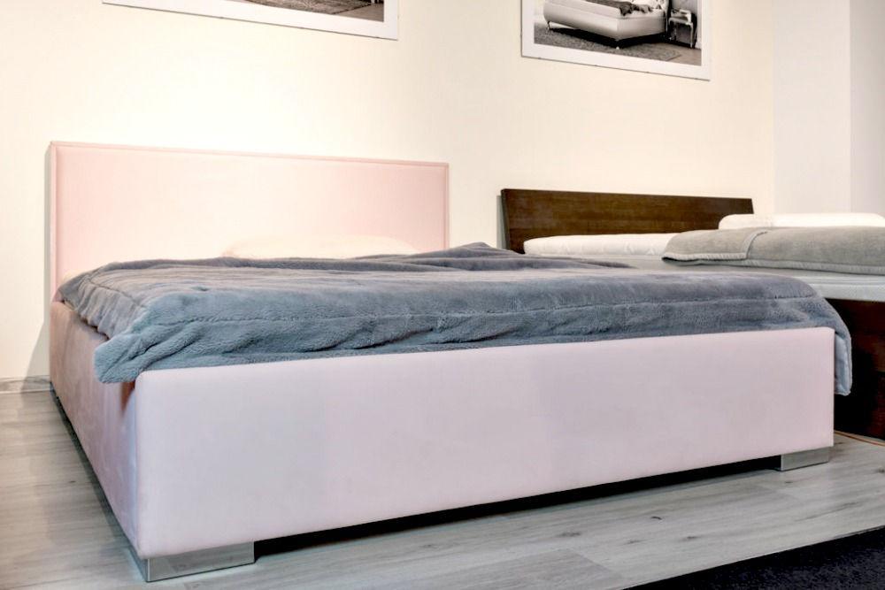 łóżko Sorrento 160x200 na ekspozycji w salonie firmowym